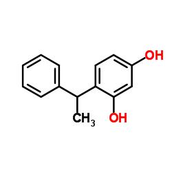 4-(1-phenylethyl)benzene-1,3-diol CAS:85-27-8 manufacturer & supplier