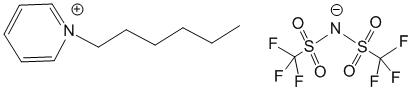 N-hexyl pyridinium bis(trifluoromethyl sulfonyl)imide CAS:460983-97-5 manufacturer & supplier